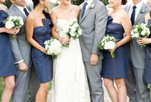 Navy and Grey Wedding