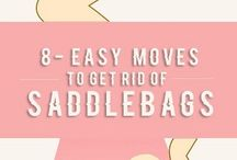Saddlebag exercises