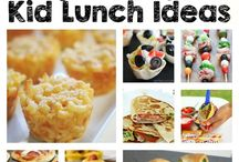 Easy Kids Lunch Ideas / Lunch is served and these awesome kids lunch ideas and recipes are sure to please!