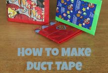 Duct Tape Creations / Fun with duct tape