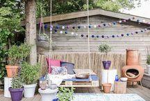 GARDEN & OUTDOOR / #jardin #terrasse #balcon #home #garden #decor #déco #outdoor