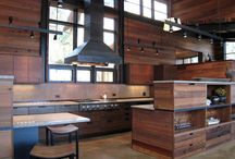 The Home / Reclaimed wood ideas for the home