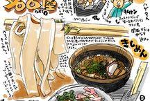 LOVE [ FOOD DRAWING ]