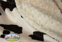 Etsy - Minky Blankets, Neutral