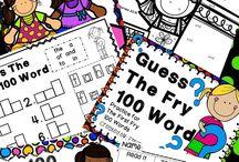 Kids school books, worksheets, etc ...
