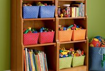Organisation / I'd love to be more organised than I am, here are some pretty organisational ideas.