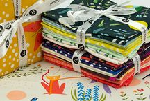 Catnap / Fabric collection designed by Lizzy House.