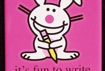 Attitude to spare:  Happy Bunny, Grumpy Cat, Honey Badger, and Chuck Norris / by Sami Reason