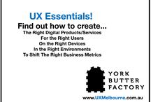 UX Essentials in 60 Minutes / The one hour presentation on UX to get you across the landscape of what it is, it's benefits and how to use it.