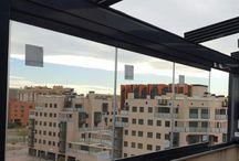 Cortinas de cristal / Cortinas de cristal instaladas por Ventanas Roma  http://ventanasroma.com/cortinascristal/