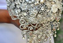 Brooch Bouquets / Brooch bouquets are a great alternative to the traditional bridal bouquets. They are unique, will last forever and are more of a personal touch for your big day!