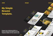 Resume Templates on Creative Store / Resume Templates on Creative Store