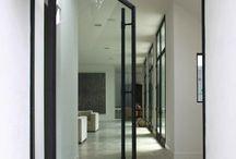 vitrocsa glass pivot doors