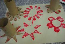 Zajímavé nápady - výtvarka / výtvarná výchova, děti, tvoření, nápady a inspirace