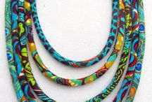 Jewellery / Fabric necklace