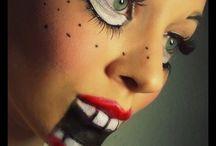 maquillajes terrorificos
