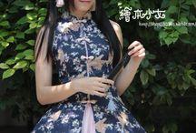 Chinese costume lolita style dress