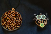Korut/quilled jewelry / Quilling