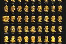 Roma İmparatorları Portreleri