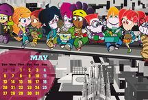 May / Mayo / Calendar / Calendario