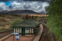 Trains station