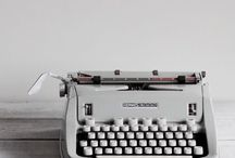 Books, writing, vintage, different...