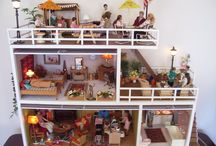Retro Lundby Doll's Houses / Lundby dolls house furniture has been produced since 1947 and their dollshouses have been sold since the late 1940s. Share your retro houses with us here!