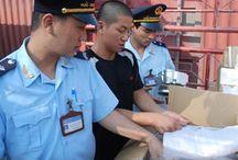 Hàng hóa vận chuyển bị giữ do không có hóa đơn kèm theo
