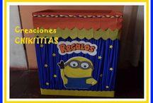 caja para los regalos