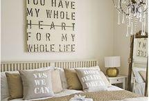 Bedroom decor / Bedroom decor ideas