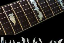 "Animal / inlay sticker ""Animal"" guitar/ukulele decals"