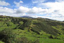 Route entre Riobamba et Cuenca / Des photos prises sur la route entre Riobamba et Ceunca (Équateur)
