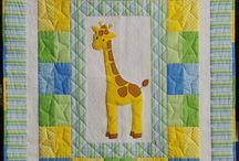 Coperta con giraffa