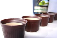 Chocolate Shot Cups / Chocolate Shot Cups for a sweet treat, mini desserts, or fill with your favourite liqueur