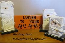 I Want My Mummy! / Mummy projects for Halloween / by Heidi Fowler {OneCreativeMommy.com}