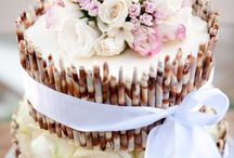 Svadobné inšpirácie / torty / Wedding Inspiration Board (Cakes)