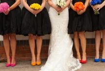 bridesmaid bouquets / by Jill Johnson