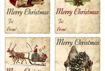 Targhetta natalizia