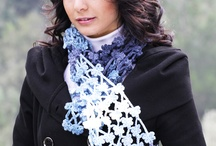 Crochet Scarves, Regular, Infinity and Cowls / by Celeste W