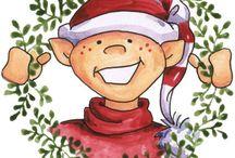 Santas 'Lil' Elfers