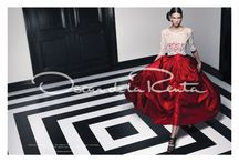 ♥ de la Renta / Oscar de la Renta fashion