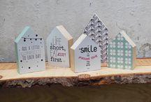 houten huisjes