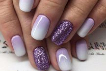 Gel nail colors and designs to get done at salon