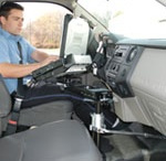 Mounting Solutions / Havis consoles are ergonomically designed to make your equipment easy to see, reach and operate while creating additional space and comfort. Our vehicle specific systems provide the strongest mounting solutions for valuable computing and radio equipment.