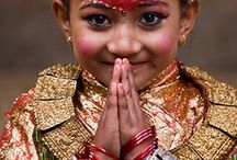 Little Ones Around The World / A collection of pictures of children and babies growing up in different cultures...