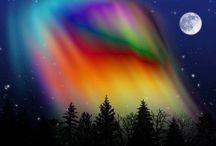 Northern Lights /      Beautiful northern lights