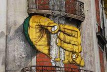 land art et street art