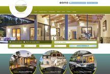 Custom Real Estate Websites / Custom websites we've designed for Real Estate Agents.