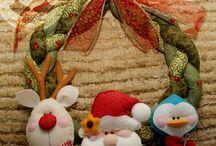 Navidad / Adornos navideños / by Aura Cecilia