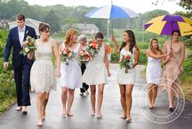 Quirky Bridal party